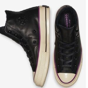 Shoes - Converse Chuck 70 Street Warmer Leather High Top